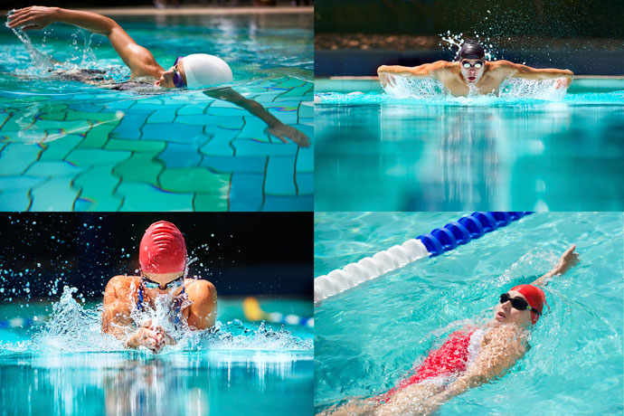 the different benefits of swimming For a high-calorie burn that also tones your core and upper body, try the butterfly stroke if you're looking for a full body workout, the crawl or freestyle may be a.